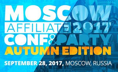 Moscow Affiliate Conference & Party Autumn Edition